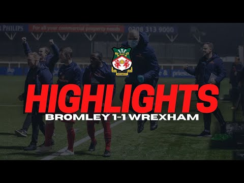 Bromley Wrexham Goals And Highlights