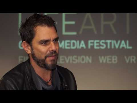 LIFEART TV  -  ARIEL VROMEN interview at the LifeArt Global Media Festival