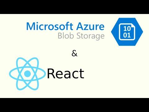 Deploying ReactJs app in Azure Blob Storage - YouTube