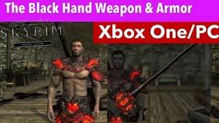 Skyrim SE Xbox One/PC Mods|The Black Hand Weapon & Armor