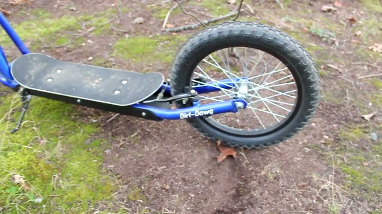 Dirt Dawg Scooter by Diggler - Hands-On Review