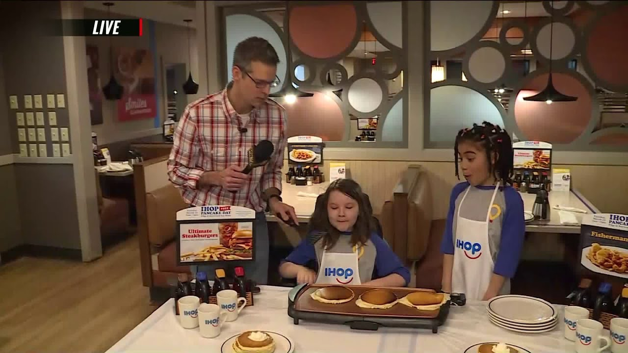 IHOP Free Pancake Day is Flipping it Forward for Kids
