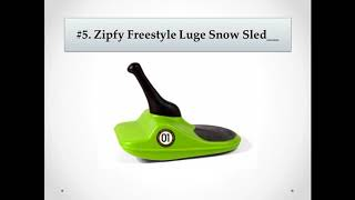 Toddler Sled - Top 10 Best Snow Sleds for Toddler Reviews