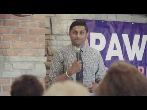 Ameya Pawar for Governor: One Illinois Day 3