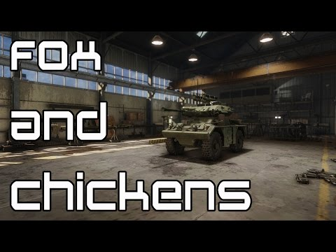 Fox and Chickens -  FV-721 Fox Armored Warfare Gameplay