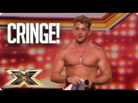 SO CRINGE! Top Awkward Auditions | The X Factor UK