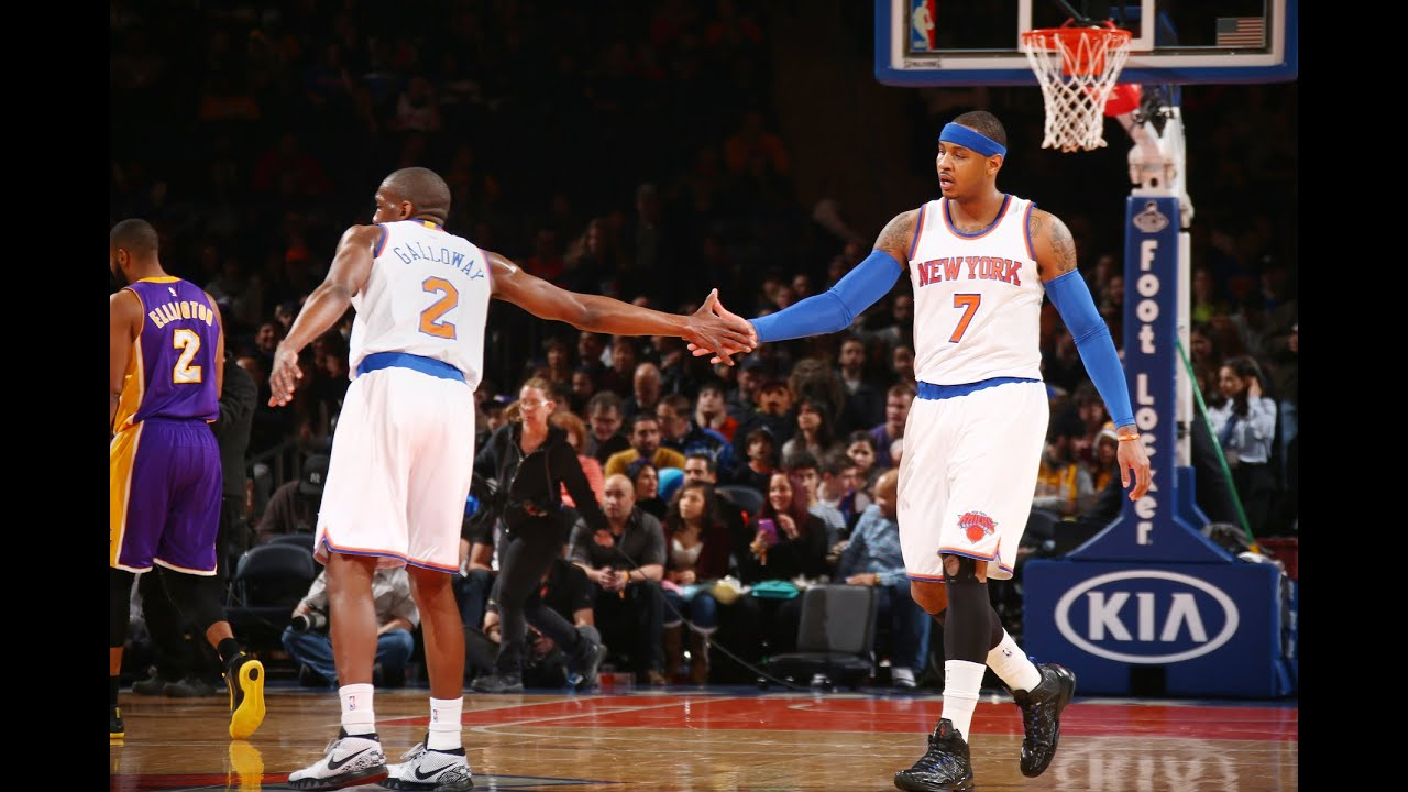 5de5d3e12 New York Knicks Top 10 Plays of the 2014-15 Season - YouTube