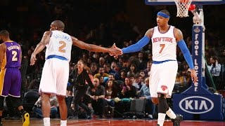 New York Knicks Top 10 Plays of the 2014-15 Season