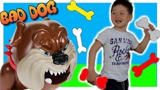 Развивающие игры для детей Челлендж Собака-кусака. Играем в игру BAD DOG Плохая собака 10 минут