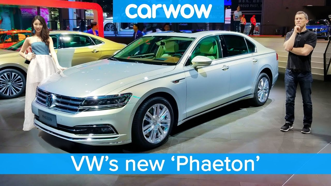 £80,000 Volkswagen 'Phaeton' and the other cool cars the Chinese get we DON'T!