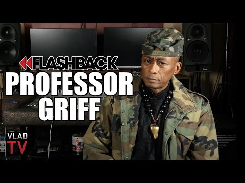 Professor Griff On Getting Kicked Out Of Public Enemy For Anti-Jewish Comments (Flashback)