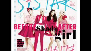 Sistar - Shady Girl Male and Female Version