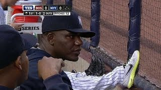 BOS@NYY: Yanks' announcers follow up on Pineda's hand