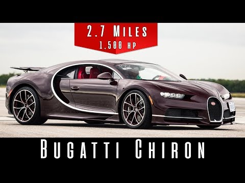 2018 Bugatti Chiron (Top Speed Test)