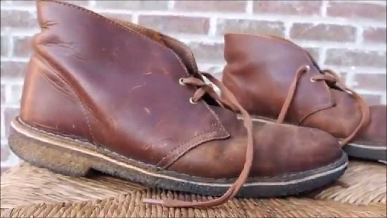 Clarks Desert Boots Beeswax Shoe Review 3 Years later