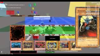 Roblox Yu-Gi-Oh GX World a duel