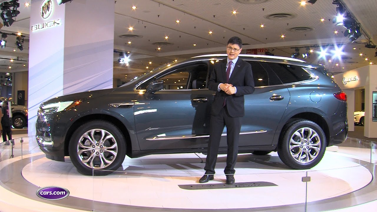 2018 Buick Enclave Avenir Review First