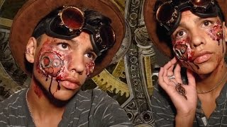 """Gore Steampunk"" Halloween Turtorial  