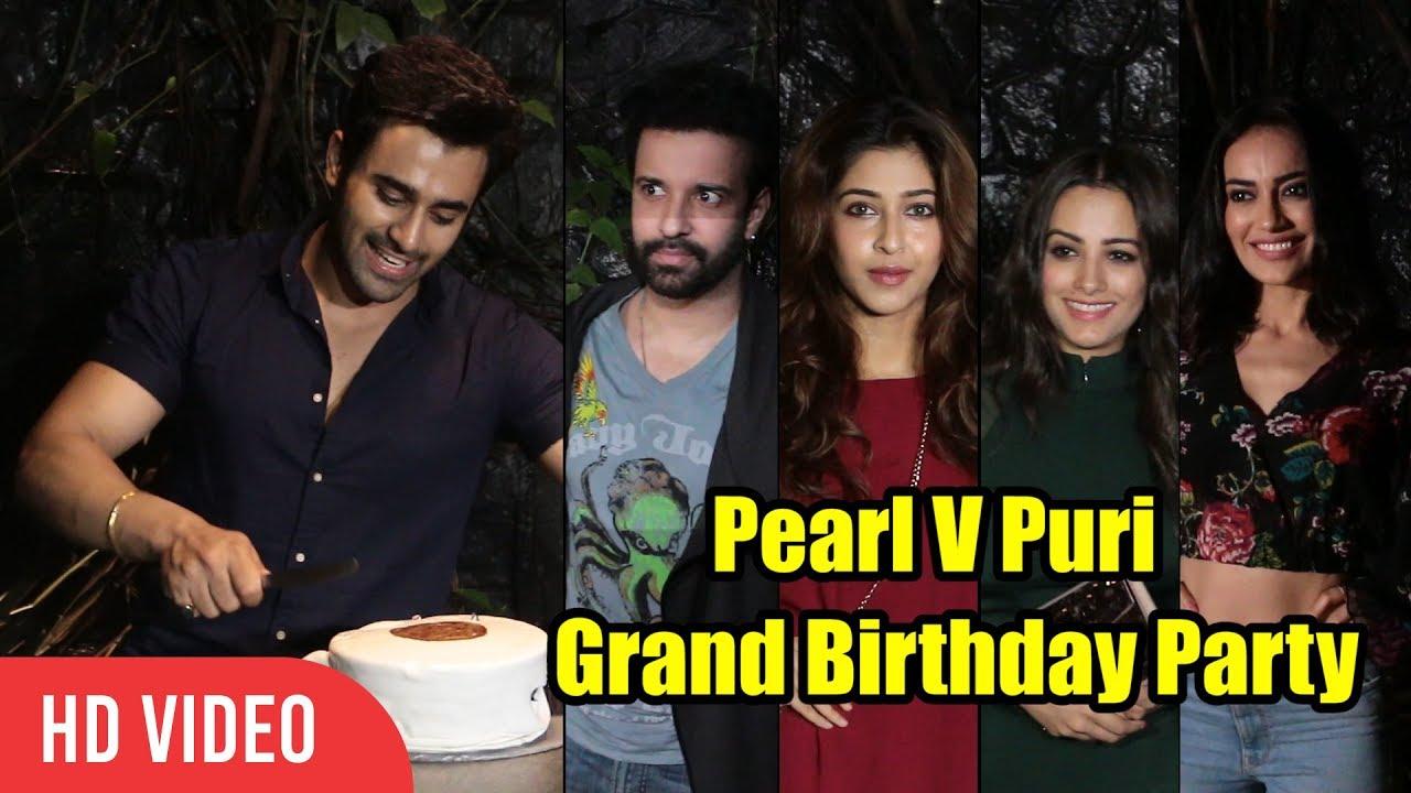 Naagin 3 Actor Pearl V Puri Grand BIRTHDAY Party | Sonarika, Aamir, Surbhi  Jyoti, Anita Hassa