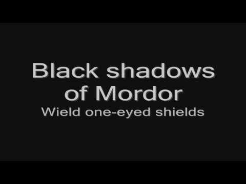 Sabaton - Shadows (lyrics) HD
