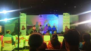 Vibrant living in noida extension societies - A musical event on durga puja