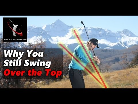 Here's Why You REALLY Swing Over the Top and the REAL Way to Fix It!