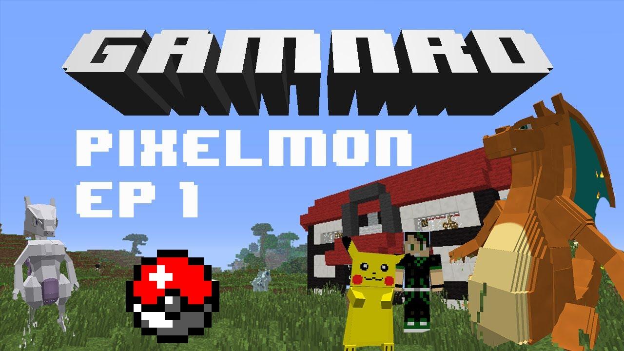 I choose you charmander gamnrd plays pixelmon ep 1 - Pixelmon ep 1 charmander ...
