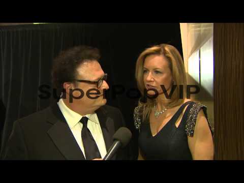 Wayne Knight, Claire Knight on the being at t...