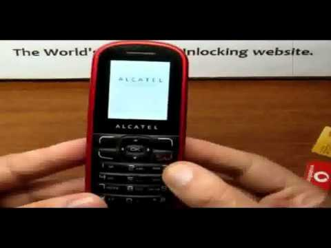 How To Unlock Alcatel OT-303/OT-303A by Unlock Codes for Any Carrier, Any Model.