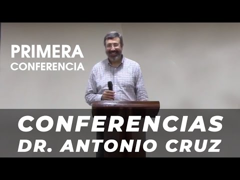 1ª Conferencia Dr. Antonio Cruz