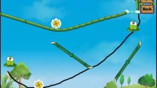 Детская Игра Мультфильм - Приключения Ам Няма - Om Nom - Перережь веревку: Ам Ням пьет воду #3