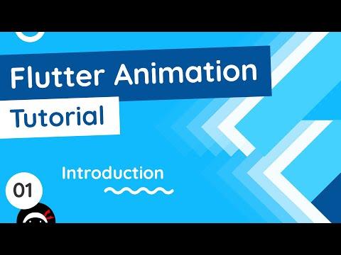 Flutter Animation Tutorial #1 - Intro & Setup