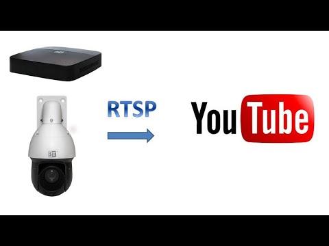 Как настроить прямую трансляцию видео с регистраторов и камер ST на Youtube канал SPACETECHNOLOGY