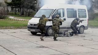Военно-патриотический праздник - выступление ФСКН