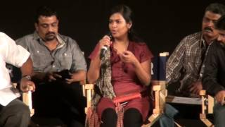 Director Gayathri Speaks at Kadhai Thiraikkadhai Vasanam Iyakkam Movie Songs Release
