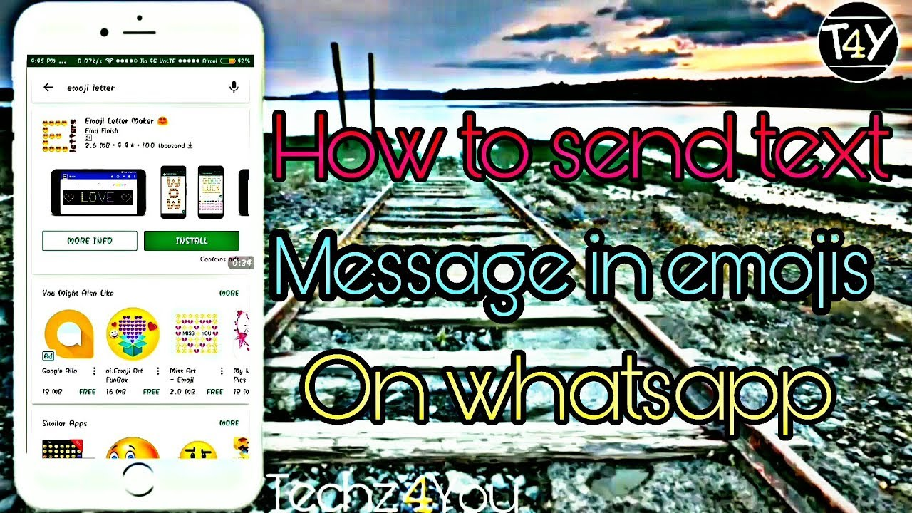 how to add emojis to messages