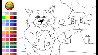 Cats Coloring Pages Kids