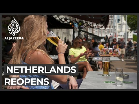 Netherlands reopens with strict social distancing rules
