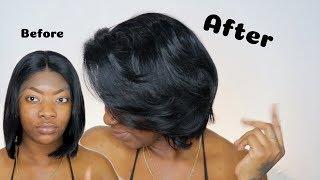 Made it look like Natural Hair! | Short Lace Wig Bob | Wig Encounters
