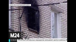 Смотреть видео Четверо детей и взрослый погибли в ночном пожаре в Подмосковье - Москва 24 онлайн