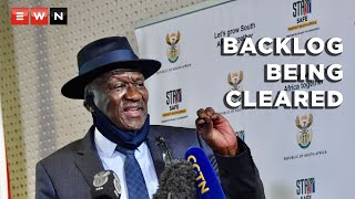 In a media briefing on 14 May 2021, Police minister Bheki Cele assured the nation that his ministry was working around the clock to clear DNA forensics backlogs in police labs. Cele said that rape and gender-based violence cases were prioritised in this pursuit, followed by murder and attempted murder. The minister released quarterly crime stats from 1 January to end of March 2021.  #BhekiCele #CrimeStats #GBV