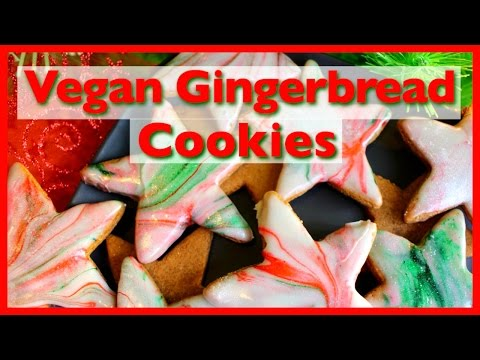 VEGAN CHRISTMAS GINGERBREAD COOKIES | Collab with Imaginfinity ★