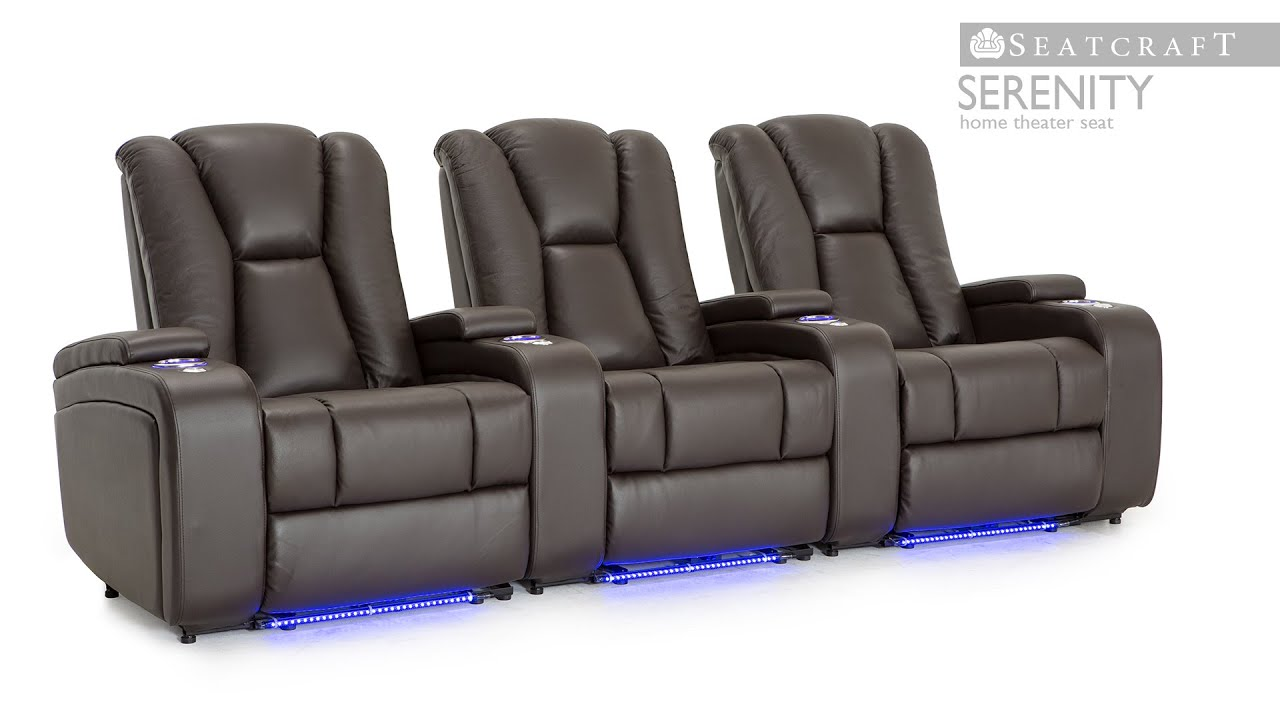 pin oversized reclinerstheater black lancaster couch seaing home leather couches theater chairstheater size foam movie