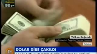 ALB Forex Altın ve Emtia piyasası müdürü Volkan Kuğucuk piyasaları değerlendirdi. 24TV