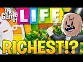 HOW TO MAKE A QUICK MILLION DOLLARS $$$ - THE GAME OF LIFE (Board Game)