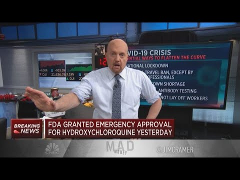 Jim Cramer: The Market Has 'hope' That American Science Can Beat The Coronavirus
