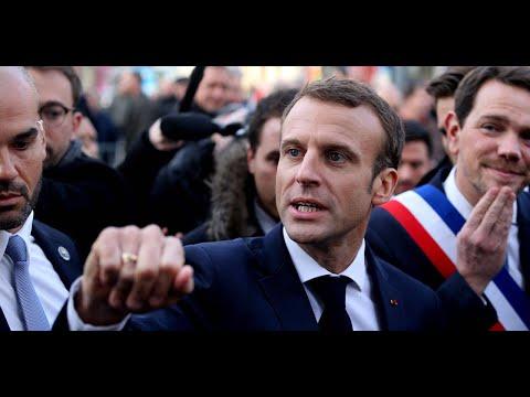"""Emmanuel Macron justifie l'hommage au maréchal Pétain, """"un grand soldat pendant la Première Guerr…"""