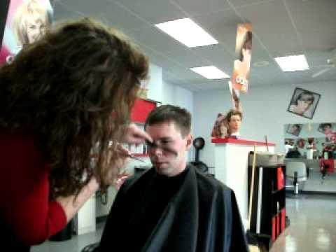 Haircut Demonstration - Men's hair