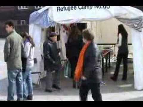 Refugee Camp No. 60, Rådhuspladsen, Copenhagen