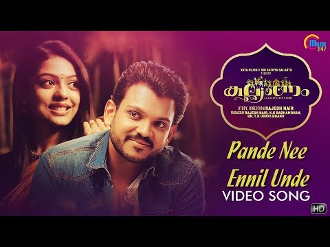Kalyanam | Pande Nee Ennil Unde Song Video | Shravan Mukesh | Siddharth Menon | Prakash Alex | HD